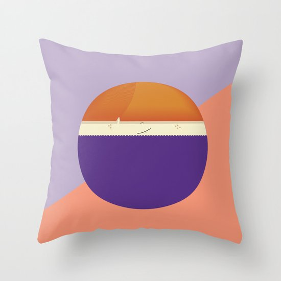 roundy Throw Pillow