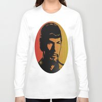 spock Long Sleeve T-shirts featuring Spock by SVA🌺