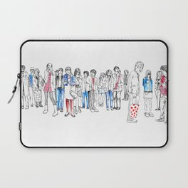 In Moments of Waiting Laptop Sleeve