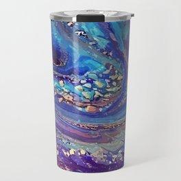 Iridescent Fantasy Abstract Travel Mug