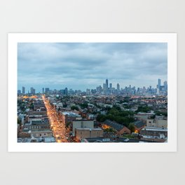 Chicago from The Robey Art Print