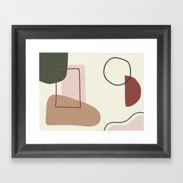 live with love Framed Art Print