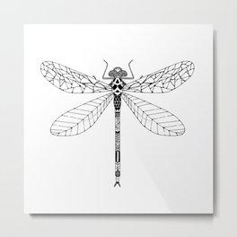 Bug - dragonfly Metal Print