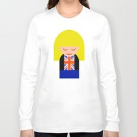 tyler spangler Long Sleeve T-shirts featuring Rose Tyler by Kellyanne
