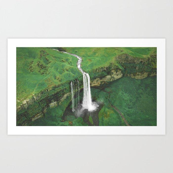 Selja Cloudy Art Print