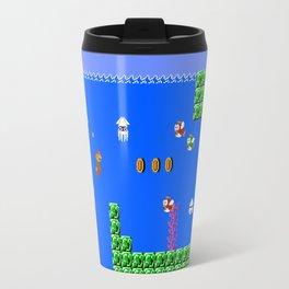 Mario Waterworld Travel Mug