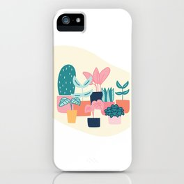 Cute House Plant  iPhone Case