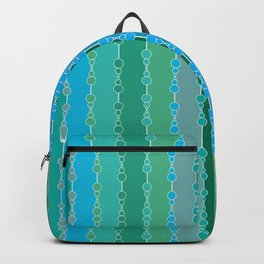 Multi-faceted decorative lines 5 Backpack
