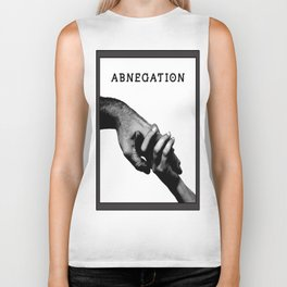 ABNEGATION - DIVERGENT (draw by me) Biker Tank