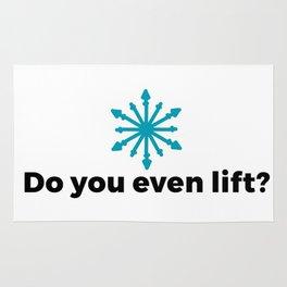 Do you even lift? Rug