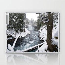 The Wild McKenzie River Waterfall - Nature Photography Laptop & iPad Skin