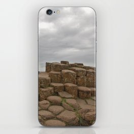 Giant's Causeway stones iPhone Skin