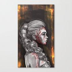 Blood & Honey Canvas Print