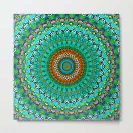 Geometric Mandala G388 Metal Print