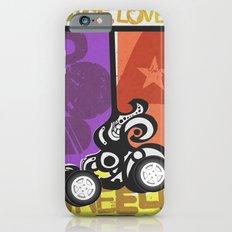 Peace, Love & Pop a Wheelie! (I) iPhone 6s Slim Case