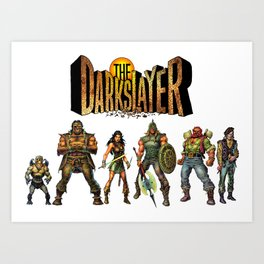 The Darkslayer Group Photo Art Print