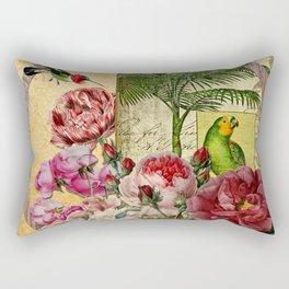 Beija Rosas Rectangular Pillow