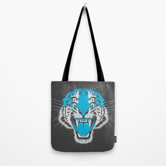 Tiger Head Tote Bag