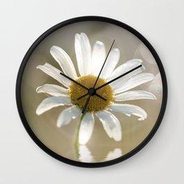 Daisy in dreams Wall Clock