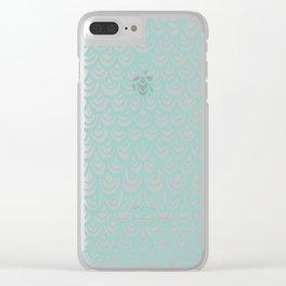 Watercolor Mermaid Clear iPhone Case