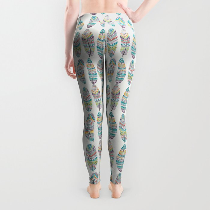 Amazon Feathers Leggings