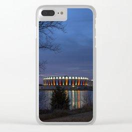 Hampton Coliseum I Clear iPhone Case