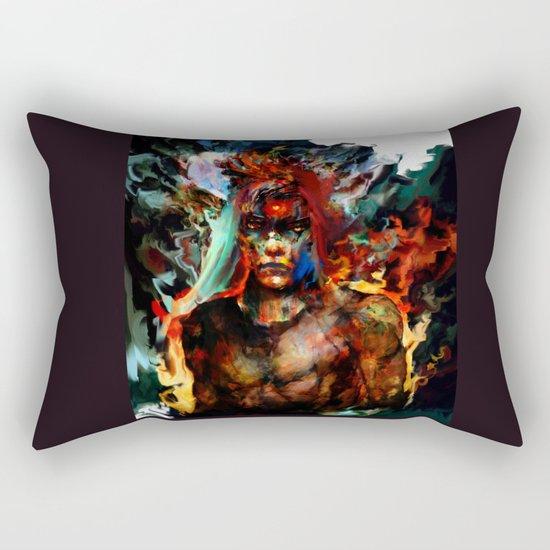 indian spirit Rectangular Pillow