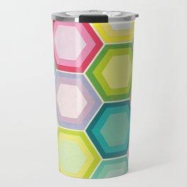 Honeycomb Layers Travel Mug