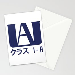 U.A. High School Stationery Cards