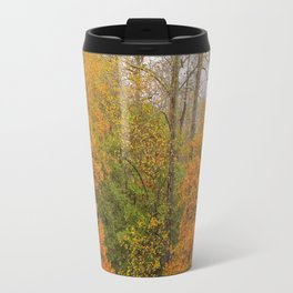 Leaning Into Autumn Travel Mug
