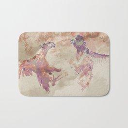 Cockfight Bath Mat