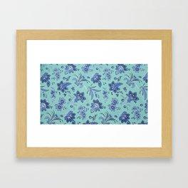 Jaco BeanBlue Framed Art Print