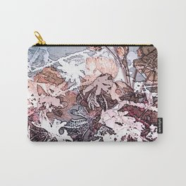 Frosty Transformation to Winter - An abstracted impression Carry-All Pouch