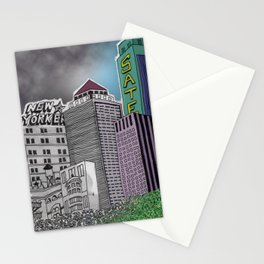 Pollution Stationery Cards