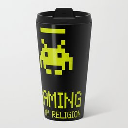 Gaming is my religion Travel Mug
