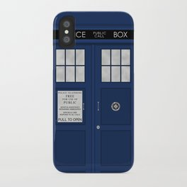 Doctor Who's Tardis iPhone Case