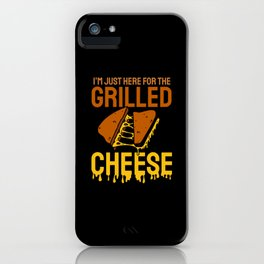 Grilled Cheese Cheesy Food Lover iPhone Case