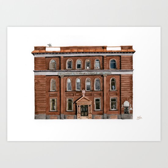 Wright Building Art Print
