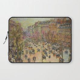 Paris, Boulevard Montmartre, a copy Laptop Sleeve