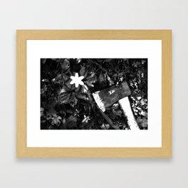 Chop it down. Framed Art Print