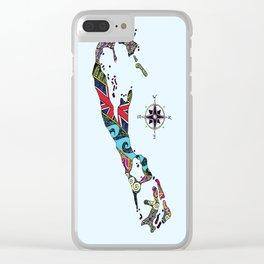 Bermuda Map Clear iPhone Case