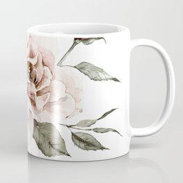 Faded Pink Rose Coffee Mug