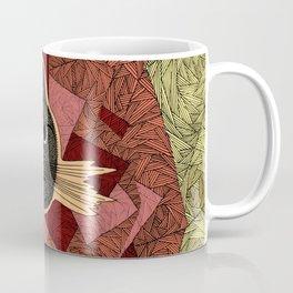 Cattitude: A cat with an attitude Coffee Mug