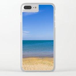 Horizonte Paraguanero Clear iPhone Case