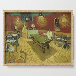 The Night Cafe by Vincent van Gogh Serving Tray