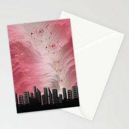 Rose megapolis Stationery Cards