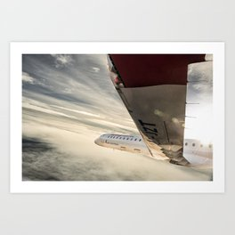 CR9 EC-JZR Art Print
