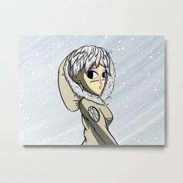 Snowstorm Metal Print