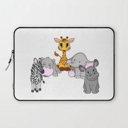 Animal Friends Laptop Sleeve