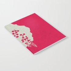 Fruit Tree Series, Red III Notebook